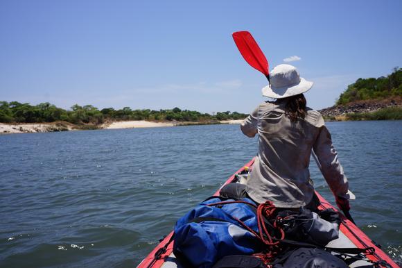 Sophie - 1000 Km à la rame sur le Zambeze