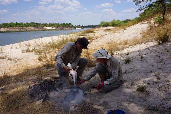1000 Km à la rame sur le Zambeze