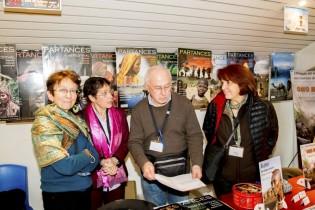 Chantal, Christiane, Michel et Marie-Noëlle planifient le travail