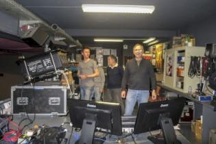 Les hommes de l'ombre : Jean-Jacques Abrial et l'équipe technique, Damien et Michel