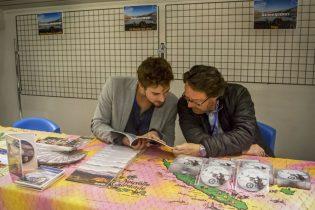 Thibaut Fievet et Gérard Quéray, échanges autour du voyage