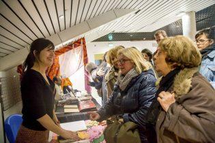 Mélusine Mallender et ses fans !