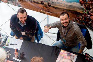 La bonne humeur de Loïc Terrier et Jonathan Lux, et leur magnifique expo Photo