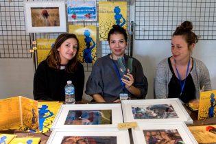 Les amis de l'Iffcam ou plutôt les amies ! Mélissa Bronsart, Carole Lelièvre et Marie-Elise Tang