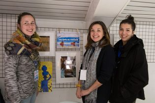 """Mélissa Bronsart, Carole Lelièvre et Marie-Elise Tang, un grand bravo pour """"L'or bleu du Rajasthan"""" !"""