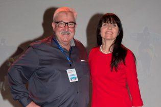 Patricia Combret et Paul Cochet, des présentateurs radieux !