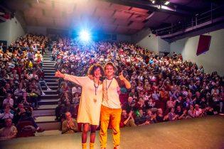 Quel succès pour Claire Guinat et Timothée Vergne !
