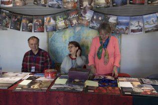 Jean-Luc, Marie-Noëlle et Hélène, nos bénévoles