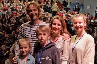 Sébastien, Julie, Meije, Marin, Eléa Shearn qui nous ont offert une belle parenthèse