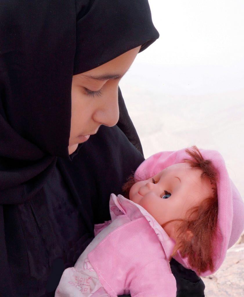 Moi, Nojoom, 10 ans, divorcée ©Photo-Khadija AL Salami