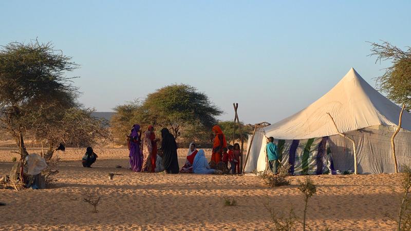 Mauritanie, terre de sable