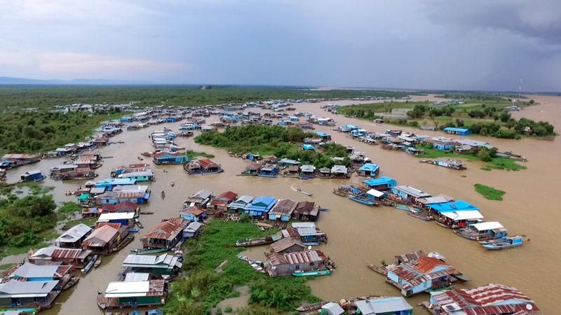 Les derniers villages flottants du Cambodge