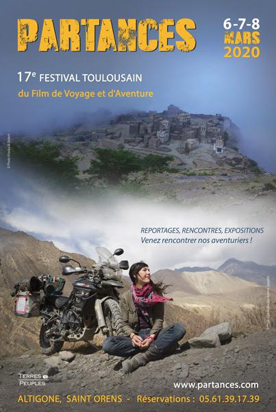 Affiche Festival Partances 2020
