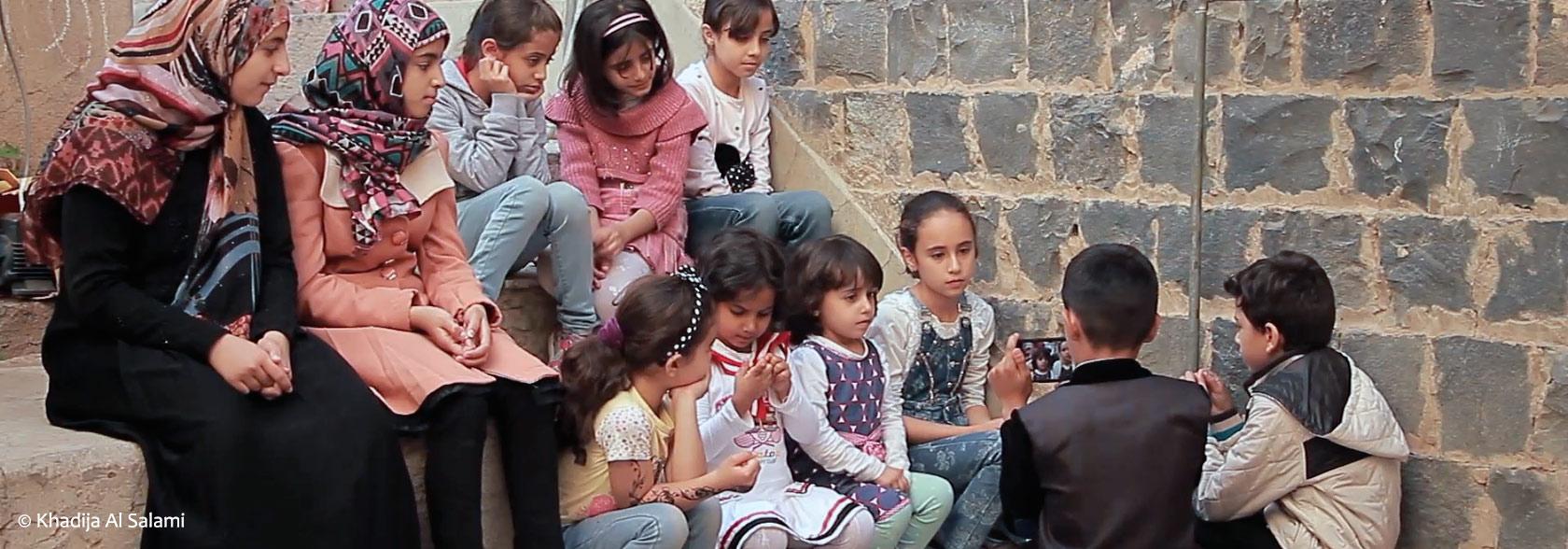 Les enfants et la guerre ©Photo-Khadija AL Salami